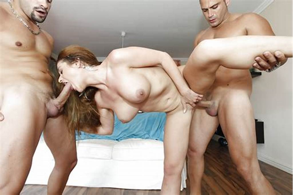 #Gorgeous #Milf #Gets #Mouth #Fucked #And #Double #Penetrated #By