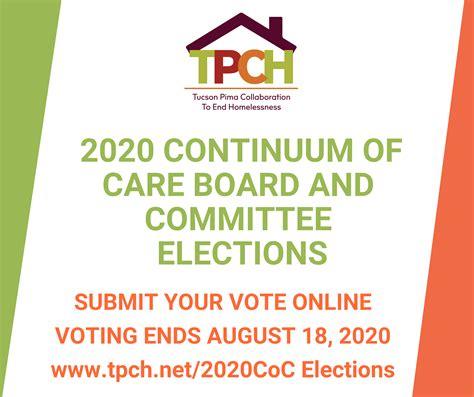 TPCH 2020 Continuum of Care 이사회 및위원회 선거   노숙자를 끝내기위한 투손 피마 협력