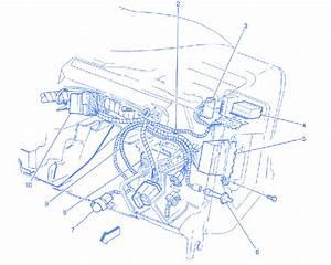 Chevy Blazer 1996 Dash Panel Electrical Circuit Wiring