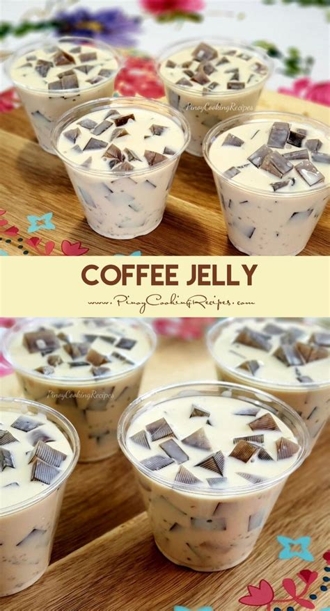 Coffee jelly mixture 3 cups water 2 packs kopiko black 3 in 1 1 tablespoon instant coffee powder 1. Coffee-flavored gelatin in a coffee-infused sweetened cream. | Coffee jelly, Coffee jelly recipe ...