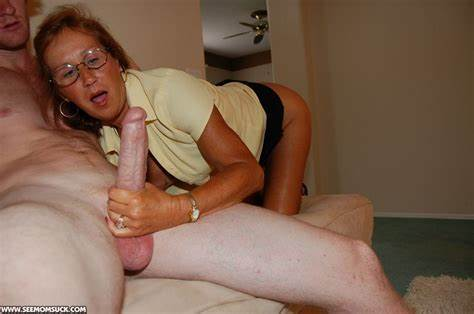 Big Young Granny Makes A Cock  Swallow With
