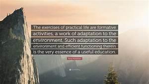 In Life : maria montessori quote the exercises of practical life ~ Nature-et-papiers.com Idées de Décoration