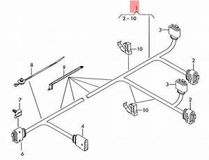 Genuine Audi A8 S8 Quattro Wiring Harness For Fuel Pump