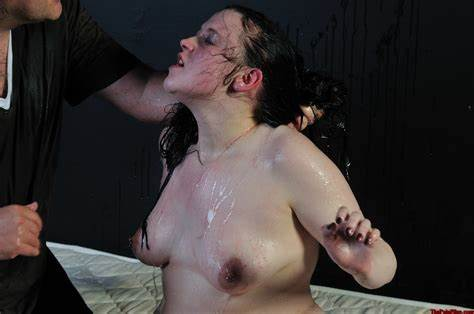 Depravity In The Table Emmas Bizarre Water Submission And Fast Female Domination