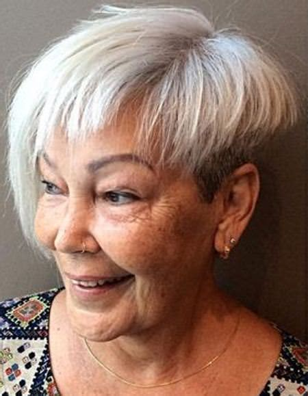 20 Best Hairstyles and Haircuts for Women over 60