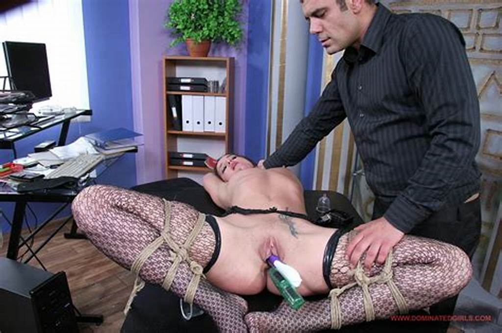 #Naughty #Secretary #Andy #Brown #Gets #Punished #And #Fucked #By