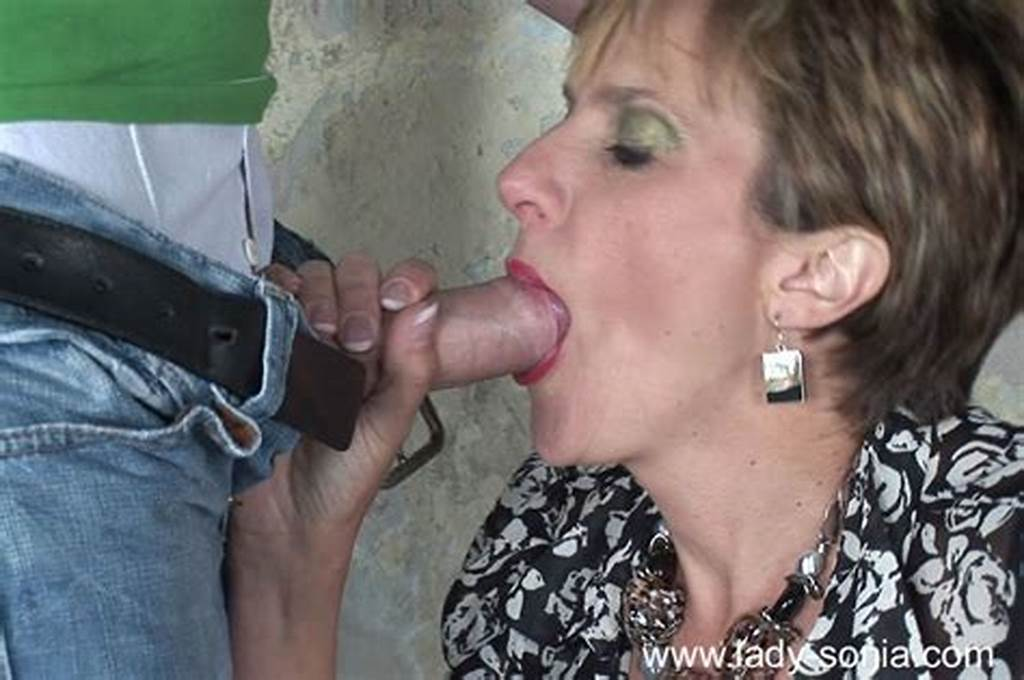 #Horny #Mature #Lady #Gives #A #Blowjob #And #Gets #Slammed #Outdoor
