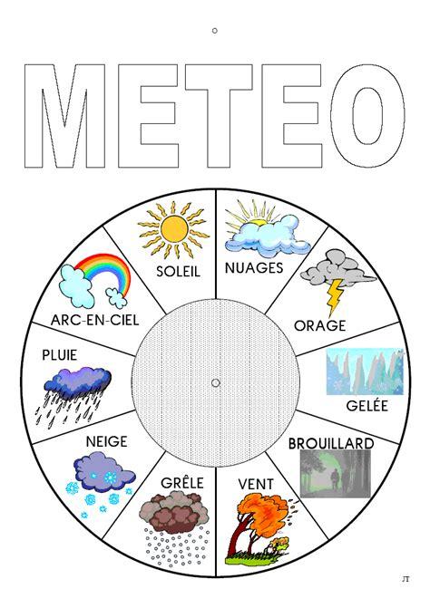 foto de roue+de+la+météo(734×1040) Météo maternelle