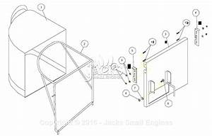 Billy Goat Fm3301e Parts Diagram For Grass Catcher Kit