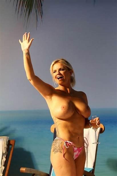 Kerry Katona Naked Nude Topless Landscape Posing