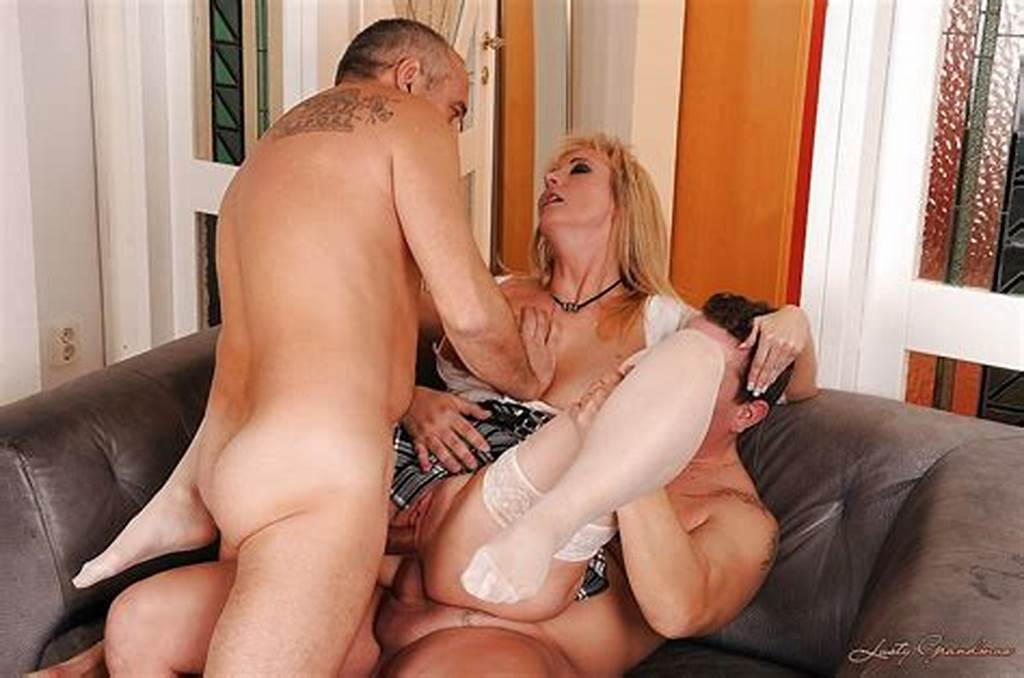 #Big #Busted #Mature #Blonde #Is #Into #Groupsex #With #Double