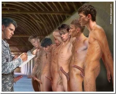 Artistic Boys Teen Nude
