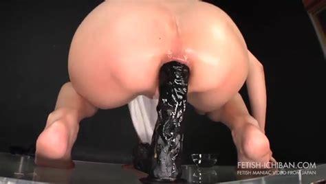 Ebony Big Ass Dildo Anal
