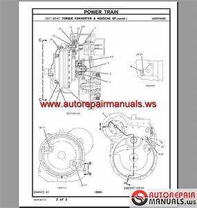 Caterpillar 966h Wheel Loader Parts Manual