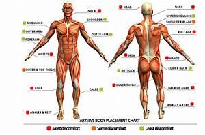 Tattoo Pain Chart  How Much Will It Hurt