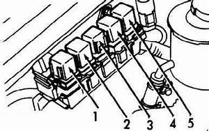 Infiniti G20  1990 - 1996  - Fuse Box Diagram