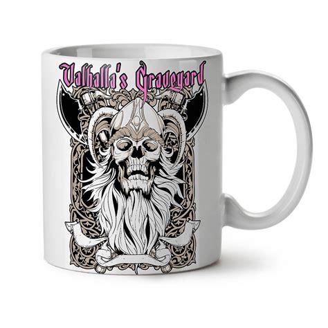 The most common valhalla coffee cup material is ceramic. Valhalla Graveyard NEW White Tea Coffee Ceramic Mug 11 oz | Wellcoda | Fruugo UK
