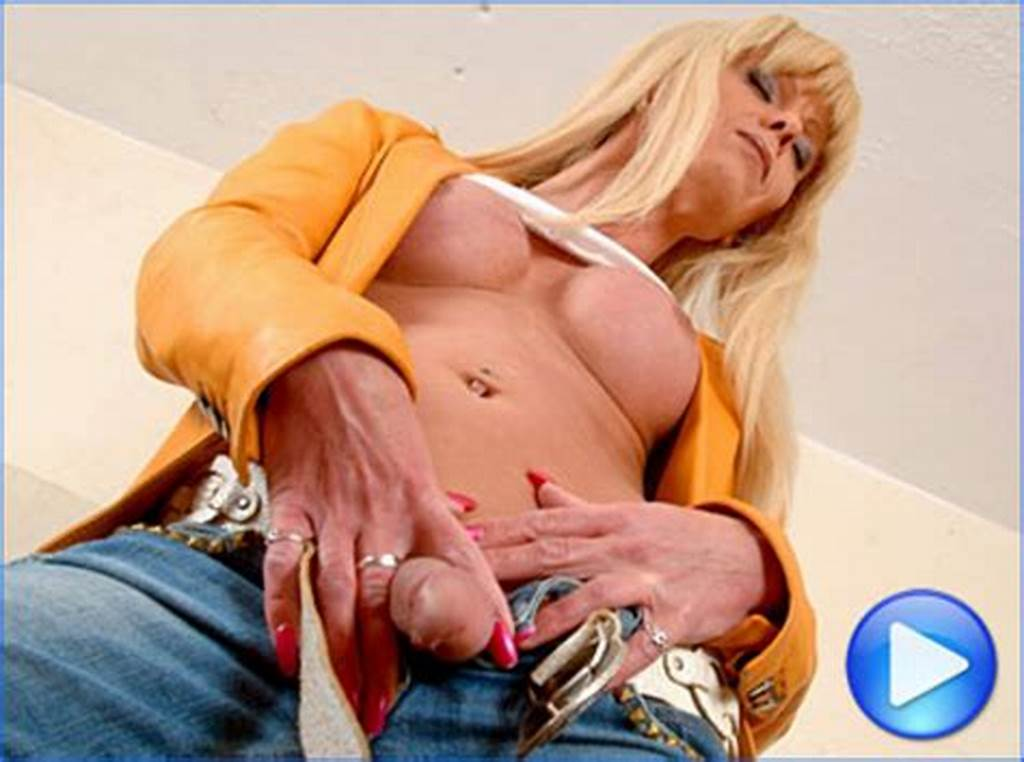 #Joanna #Jet #Strips #Out #Of #Blue #Jeans #To #Play #With #Her #Roc