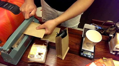 But it depends on the water temperature. How to pack the drip coffee filter bags packaging - YouTube