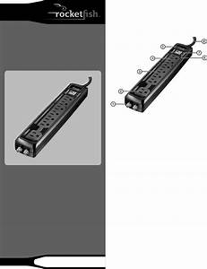 Download Rocketfish Surge Protector Rf