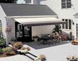 18 Ft Sunsetter Vista Retractable Awning  Manual Outdoor