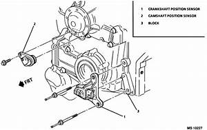 Bucik Park Ave Ultra 3800 Engine Just Where Exactly Is The Camshaft Sensor Located  Book Says