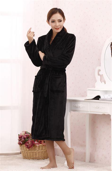 robe de chambre chaude femme great robe robe de chambre femme velours noir