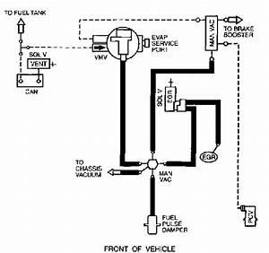 Diagram Of Emission Hoses On 2001 Ford Escape V6