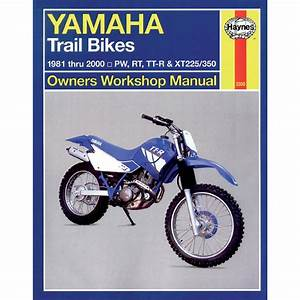 Haynes Repair Manual - Yamaha Trail Bikes - 2350