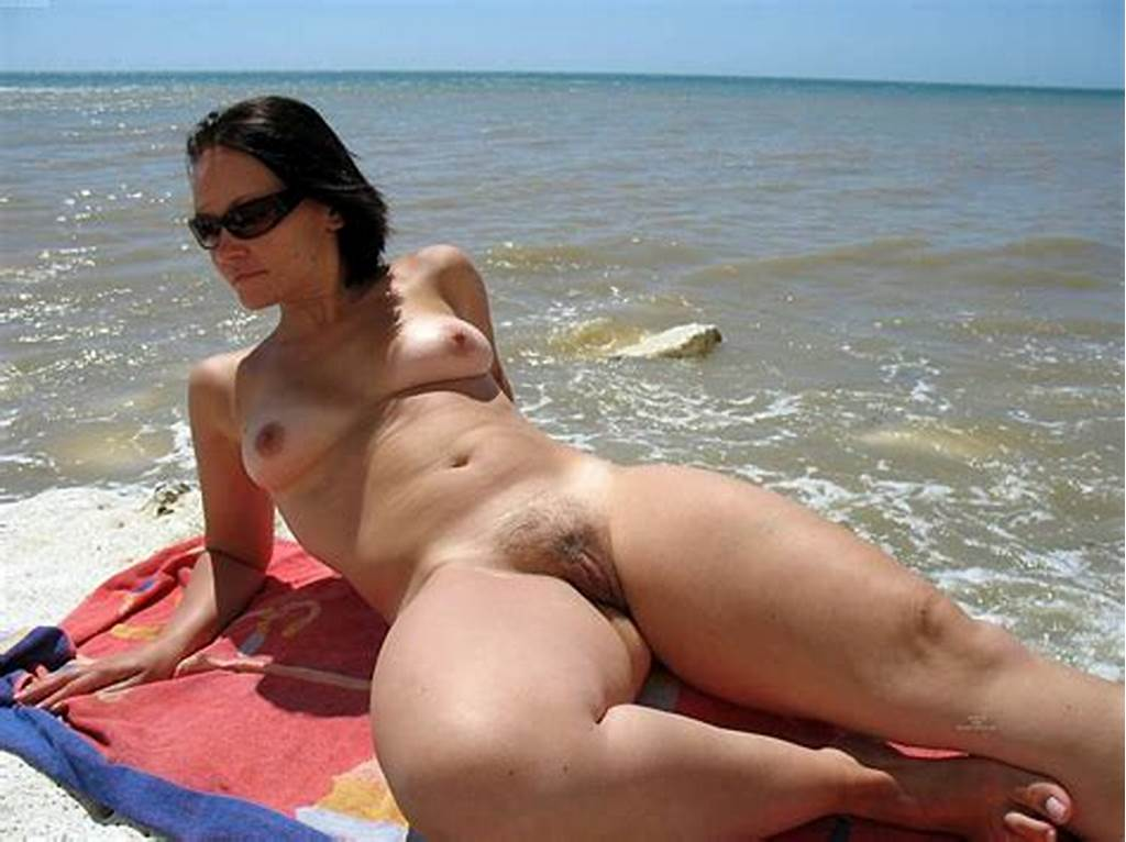 #Naked #Girl #And #Nude #Pussy #On #The #Beach