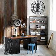 Steampunk Style Industrial Interior Retro Decor Home Design Home Construction Creating A Rustic Industrial Look For Your Kitchen Industrial Interior Design Ideas Industrial Interior Design Ideas Furniture Interior Design Office Designs Offices Interiors Corvin