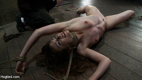 Bound Chick Flogged And Ass Pounds