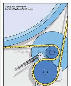 22 Diagram For Maytag Dryer Belt