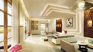 False ceiling designs for living room youtube for Interior design for living rooms 2017
