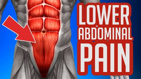 Stiffness and lack of flexibility. Pain In Lower Abdomen While Exercising - ExerciseWalls