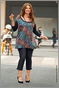 Vetement Pour Femme Ronde : corsaire brillant noir collection femme ronde fashion ~ Farleysfitness.com Idées de Décoration
