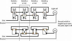 Eaton 4 Way Switch Wiring Diagram