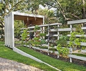 Idee Cloture Jardin : 95 id es pour la cl ture de jardin palissade mur et ~ Melissatoandfro.com Idées de Décoration