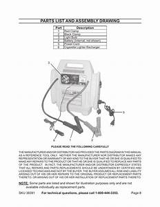 Parts List And Assembly Drawing