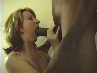 Sucking Giant White Cock