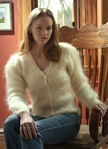 Sweater girl lingerie models