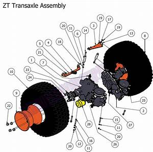 Bad Boy Mowers 2012 Zt Transaxle Assembly