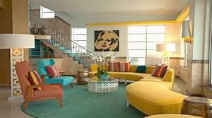 10 whimsical modern retro interior design ideas interior With 50s interior design ideas