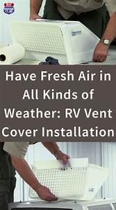 Rv Vent Cover Installation