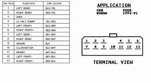 1997 Honda Civic Stereo Wiring Diagram
