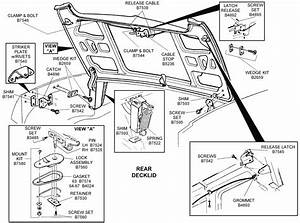 Rear Deck Lid - Diagram View