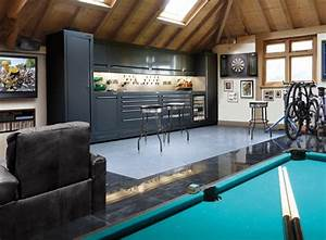 how to turn a garage into a family room tips for With tips to make man cave garage