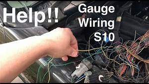 Help Me Youtube    Wiring The Gauges On My S10 Ls Swap