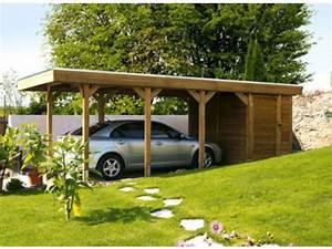 Carport Avec Abri : carport simple avec atelier id557 contact france abris ~ Melissatoandfro.com Idées de Décoration