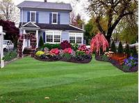 how to landscape your yard Tropical Landscaping Ideas For Front Of House Small On A ...